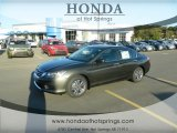 2013 Hematite Metallic Honda Accord LX Sedan #72597824