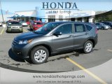 2012 Polished Metal Metallic Honda CR-V EX #72597818