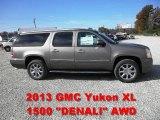 2013 Mocha Steel Metallic GMC Yukon XL Denali AWD #72598110