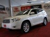 2010 Blizzard White Pearl Toyota Highlander Hybrid Limited 4WD #72598014