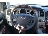 2013 Toyota Tundra Platinum CrewMax 4x4 Steering Wheel