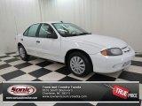 2003 Olympic White Chevrolet Cavalier LS Sedan #72597909