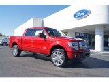 2013 Ruby Red Metallic Ford F150 Limited SuperCrew 4x4 #72597680
