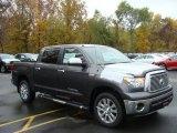 2012 Magnetic Gray Metallic Toyota Tundra Platinum CrewMax 4x4 #72656736