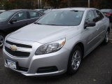 2013 Silver Ice Metallic Chevrolet Malibu LS #72656377