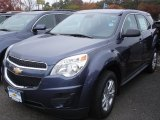 2013 Atlantis Blue Metallic Chevrolet Equinox LS #72656369