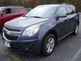 2013 Atlantis Blue Metallic Chevrolet Equinox LT AWD #72656366