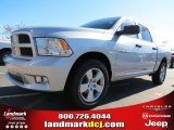 2012 Bright Silver Metallic Dodge Ram 1500 Express Crew Cab #72656607