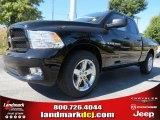 2012 Black Dodge Ram 1500 Express Quad Cab #72656604