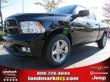 2012 Black Dodge Ram 1500 Express Quad Cab #72656603