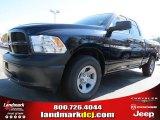 2012 Black Dodge Ram 1500 ST Quad Cab #72656601