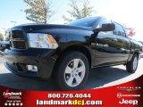 2012 Black Dodge Ram 1500 Express Crew Cab #72656599