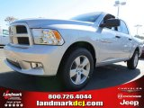 2012 Bright Silver Metallic Dodge Ram 1500 Express Crew Cab #72656598