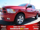 2012 Flame Red Dodge Ram 1500 Express Crew Cab #72656597