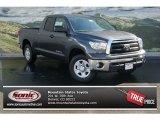 2013 Magnetic Gray Metallic Toyota Tundra Double Cab 4x4 #72656325