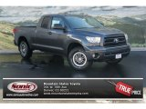 2013 Magnetic Gray Metallic Toyota Tundra TRD Rock Warrior Double Cab 4x4 #72656323