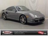 2007 Meteor Grey Metallic Porsche 911 Turbo Coupe #72656826