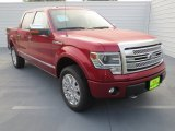 2013 Ruby Red Metallic Ford F150 Lariat SuperCrew 4x4 #72656718