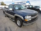 2002 Indigo Blue Metallic Chevrolet Silverado 1500 LS Regular Cab 4x4 #72657166