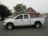 2004 Bright White Dodge Ram 1500 SLT Quad Cab 4x4 #72657059