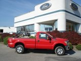 2012 Vermillion Red Ford F250 Super Duty XL Regular Cab 4x4 #72656441