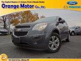 2010 Cyber Gray Metallic Chevrolet Equinox LS #72656695