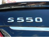 2013 Mercedes-Benz S 550 4Matic Sedan Marks and Logos