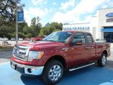 2013 Ruby Red Metallic Ford F150 XLT SuperCab #72656517