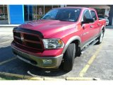2012 Deep Cherry Red Crystal Pearl Dodge Ram 1500 Mossy Oak Edition Crew Cab 4x4 #72656425