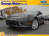 2010 Atlantis Green Metallic Ford Fusion Hybrid #72656690