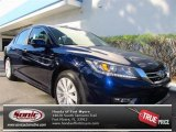 2013 Obsidian Blue Pearl Honda Accord EX-L Sedan #72656422