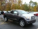 2012 Magnetic Gray Metallic Toyota Tundra Limited Double Cab 4x4 #72656743