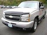2006 Silver Birch Metallic Chevrolet Silverado 1500 LT Crew Cab 4x4 #72656393