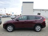 2013 Basque Red Pearl II Honda CR-V EX-L AWD #72657003