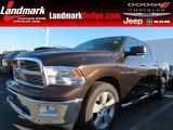 2011 Rugged Brown Pearl Dodge Ram 1500 Big Horn Crew Cab #72656640