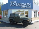 2006 Jeep Green Metallic Jeep Wrangler Sport 4x4 #72706513