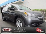2013 Polished Metal Metallic Honda CR-V LX AWD #72705701