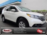 2013 White Diamond Pearl Honda CR-V EX-L #72705697
