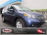 2013 Twilight Blue Metallic Honda CR-V EX #72705696