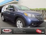 2012 Twilight Blue Metallic Honda CR-V EX #72705694