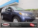 2012 Twilight Blue Metallic Honda CR-V EX #72705693