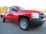 2013 Victory Red Chevrolet Silverado 1500 Work Truck Crew Cab #72706037