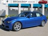 2013 Estoril Blue BMW 3 Series 328i Sedan #72705807