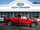 2013 Ruby Red Metallic Ford F150 Lariat SuperCrew 4x4 #72705917