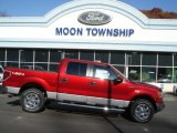 2013 Ruby Red Metallic Ford F150 XLT SuperCrew 4x4 #72705915