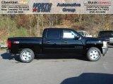 2013 Black Chevrolet Silverado 1500 LT Crew Cab 4x4 #72705908