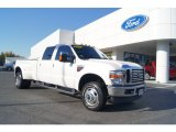 2010 Oxford White Ford F350 Super Duty Lariat Crew Cab 4x4 Dually #72705897