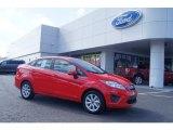2013 Race Red Ford Fiesta SE Sedan #72705894