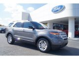 2013 Sterling Gray Metallic Ford Explorer XLT #72705893