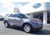 2013 Sterling Gray Metallic Ford Explorer XLT #72705893